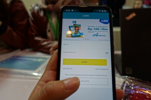 Aplikasi WELMA BCA